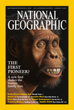 Cover of the August, 2002 Issue of National Geographic Magazine Photographic Print by Mauricio Anton