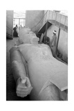 Colossus of Ramses II, 20th Century Fotografisk tryk af Science Source