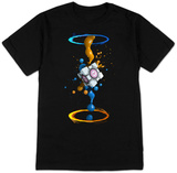Portal 2- Gel Splatter T-Shirt