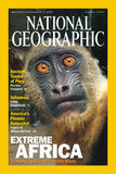 Cover of the March, 2001 National Geographic Magazine Fotografisk tryk af Michael Nichols