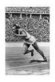 Jesse Owens, American Olympian Fotografisk tryk af  Science Source