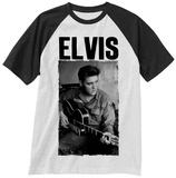 Elvis Presley- Army Uniform (Raglan) T-shirts