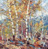 Birch Colors 1 Prints by Dean Bradshaw