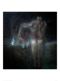 Lucifer, 1890 Giclee Print by Franz von Stuck