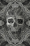 Lace Skull Posters