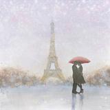 Eiffel Romance Art by Marco Fabiano