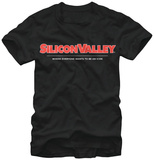 Silicon Valley- Red Icon Logo T-Shirt