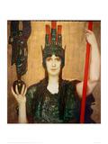 Pallas Athena, 1898 Gicléetryck av Franz von Stuck
