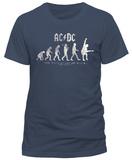 AC/DC- Evolution Of Rock (Slim Fit) T-Shirts
