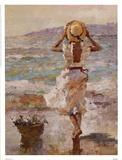 Sommer am Meer I Kunstdruck von Vitali Bondarenko