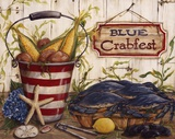 Blue Crabfest Posters by Kate McRostie