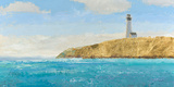 Lighthouse Seascape II Crop II Posters by James Wiens