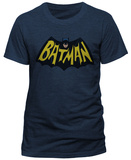 Batman Classic TV- 1966 Logo (Slim Fit) T-shirts