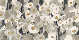 Velvety Florals Neutral Print by Silvia Vassileva