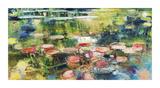 Pink Pond Giclee Print by  Rosengarten