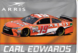 Carl Edwards 1-Sided Flag with Number Flag