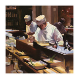 Sushi Chefs Giclee Print by  Jessen