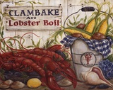 Clambake Prints by Kate McRostie