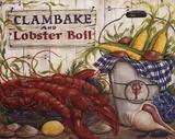 Clambake Prints by Kate McRostie
