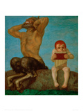 Dissonance, 1910 Giclee Print by Franz von Stuck