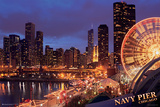 Chicago Navy Pier Láminas