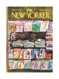 The New Yorker Cover - September 24, 1973 Regular Giclee Print by Charles Saxon