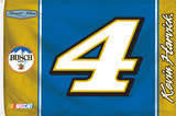 Kevin Harvick 1-Sided Flag with Number Flag
