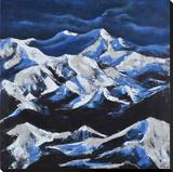 Snow Capped Peaks Prints
