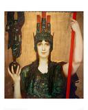 Pallas Athene, 1898 Giclee Print by Franz von Stuck