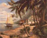Key West Hideaway Prints by Enrique Bolo