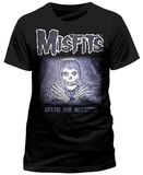 Misfits- Static Age Revisited (Slim Fit) Magliette