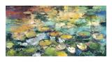 Indigo Pond Giclee Print by  Rosengarten
