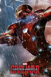 Captain America Civil War- Iron Man Planscher