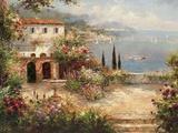 Mediterranean Villa Posters af Peter Bell