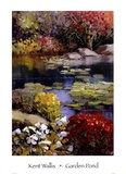 Garden Pond Posters by Kent Wallis