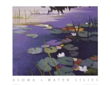 Water Lilies Prints by Tadashi Asoma