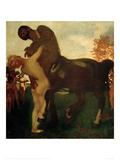 Centaur and Nymph, 1895 Gicléetryck av Franz von Stuck