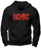 Hoodie: AC/DC- Red Logo Hoodie (over het hoofd)