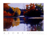 Perfect Autumn Poster by Tadashi Asoma