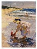 Sommer am Meer II Kunstdrucke von Vitali Bondarenko