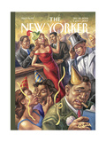 The New Yorker Cover - December 25, 2006 Regular Giclee Print by Owen Smith
