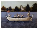 Ladies Of The Lake Print by Lowell Herrero