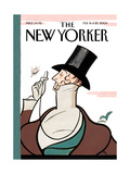 The New Yorker Cover - February 16, 2004 Giclee Print by Rea Irvin