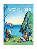 The New Yorker Cover - April 16, 2007 Regular Giclee Print by Jacques de Loustal