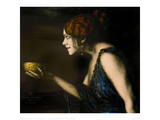 "Role in ""Circe"" by Pedro Calderon de la Barca, 1912/13 Giclee Print by Franz von Stuck"