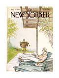 The New Yorker Cover - August 21, 1978 Regular Giclee Print by Charles Saxon