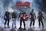 Captain America Civil War- Team Captain America Posters