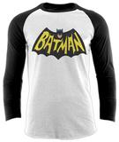 Batman- 1966 Logo (Raglan) T-Shirts