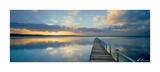 Sunset Long Jetty Poster af Ken Duncan