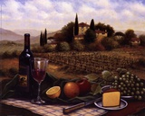 Terrace At Chianti Posters by  Unknown